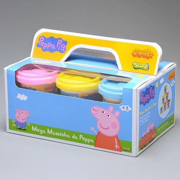 MASSINHA PEPPA PIG PACK COM 6 POTES