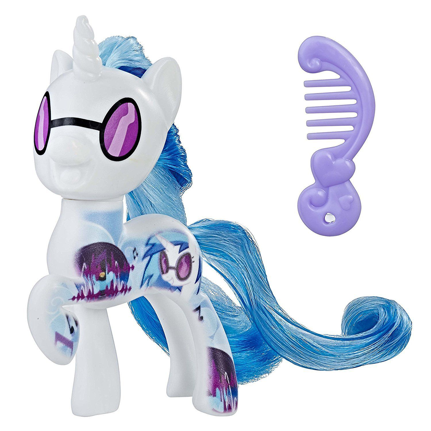 MINI FIGURA MY LITTLE PONY MOVIE DJ PON-3 HASBRO