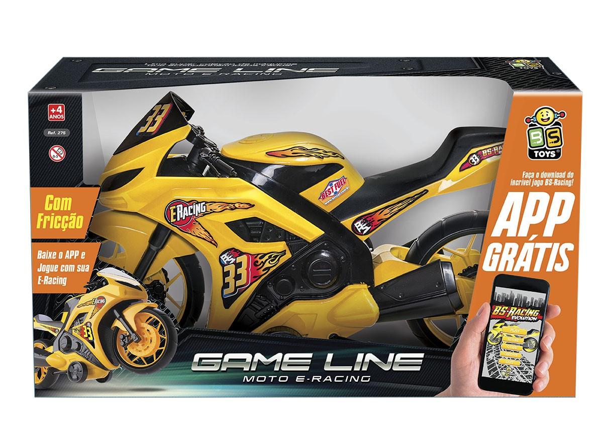 MOTO E RACING COM FRICÇÃO APP GRÁTIS GAME LINE 275 BS TOYS
