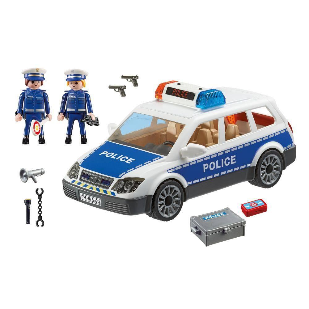 PLAYMOBIL CITY ACTION VIATURA POLICIAL COM GUARDAS SUNNY 6920