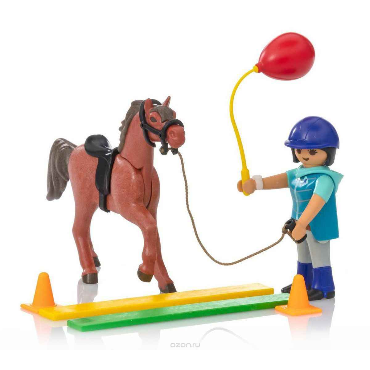 PLAYMOBIL COUNTRY SOFT BAGS CAVALO MARRON 9260