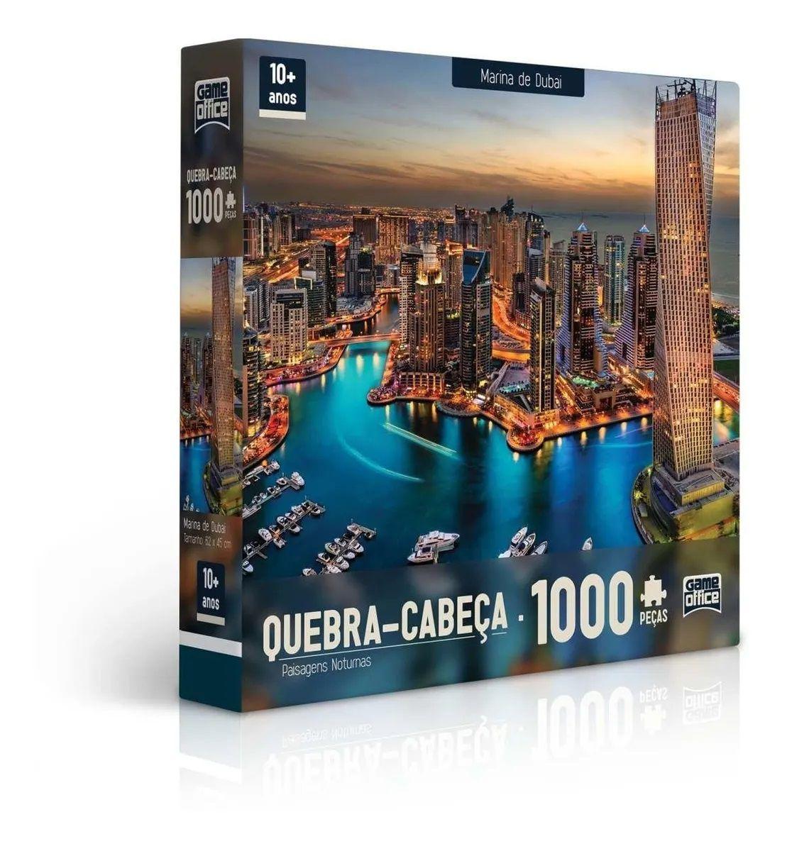 QUEBRA CABEÇA 1000 PEÇAS MARINA DE DUBAI 2308 TOYSTER