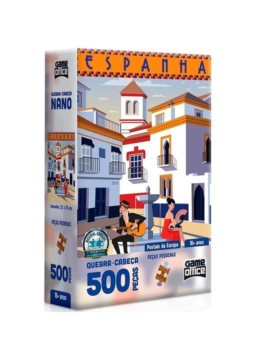 QUEBRA CABEÇA POSTAIS DA EUROPA ESPANHA 500 PÇ 2616 TOYSTER