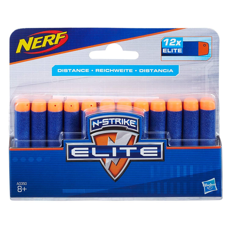REFIL NERF N-STRIKE ELITE C/12 DARDOS