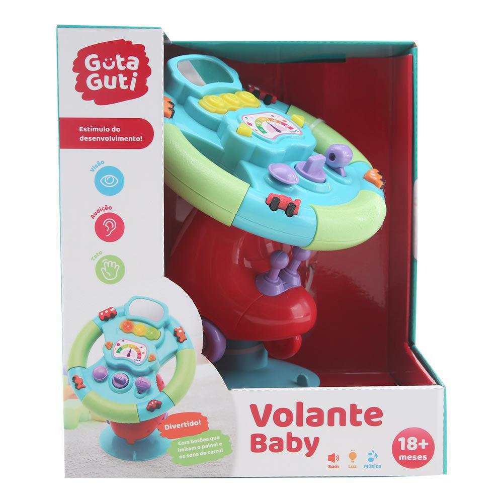 VOLANTE BABY COM SOM GUTA GUTI DMB5790 DM TOYS