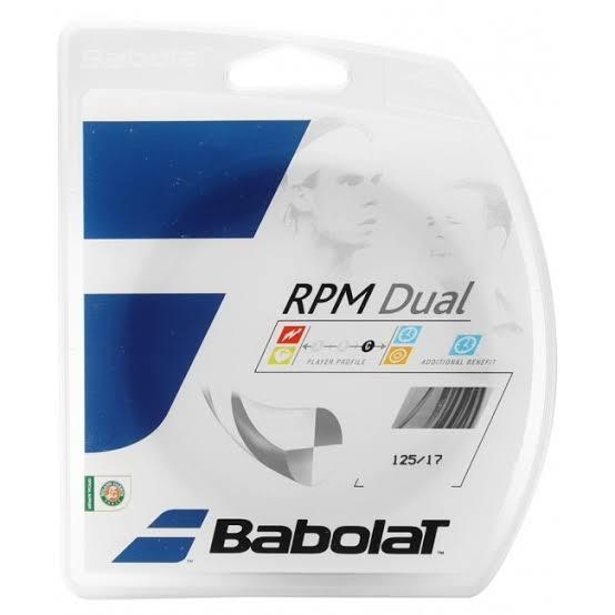 Corda Babolat RPM Dual 17l 1.25mm - 03 sets