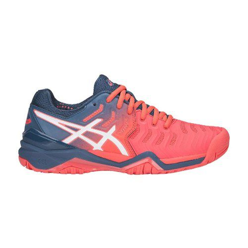 Tênis Asics Gel Resolution 7 - E751y701 - Papaya/white
