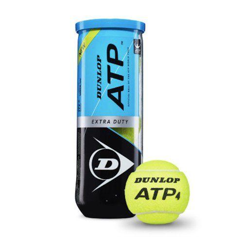 Bola De Tênis Dunlop Atp - Tubo Com 3 Bolas