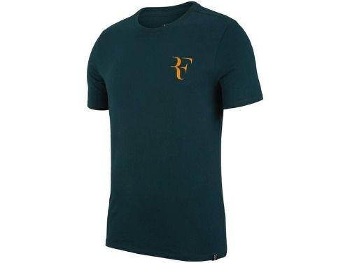 Camiseta Nike Roger Federer Verde - 923997-372
