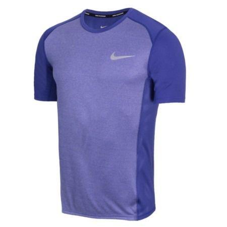 Camiseta Nike Dri-fit Miler Azul Violeta - 833591-510