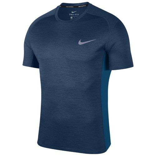 Camiseta Nike Dri-fit Miler Azul Petroleo - 833591-476