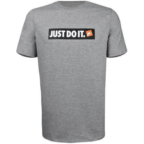 Camiseta Nike Just Do It - Cinza - Aa6412-063