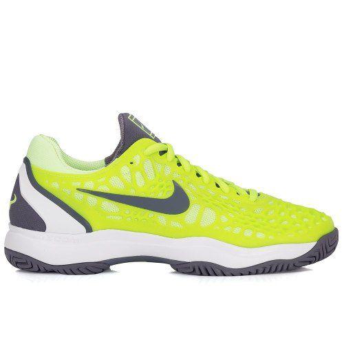 Tênis Nike Air Zoom Cage 3 Hc - Verde Limão - 918193 701