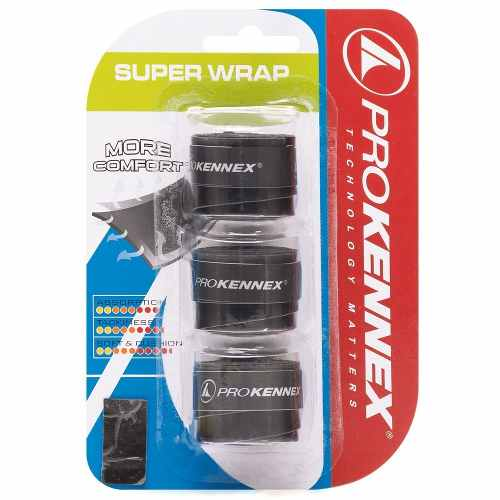 Overgrip Pro Kennex Super Wrap Preto