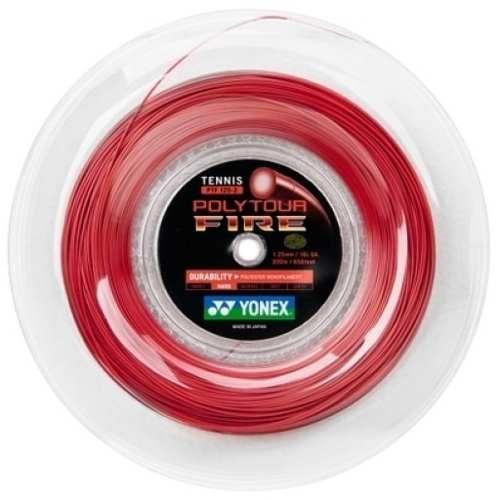 Corda Yonex Poly Tour Fire- 1,25mm/16l - 200 M
