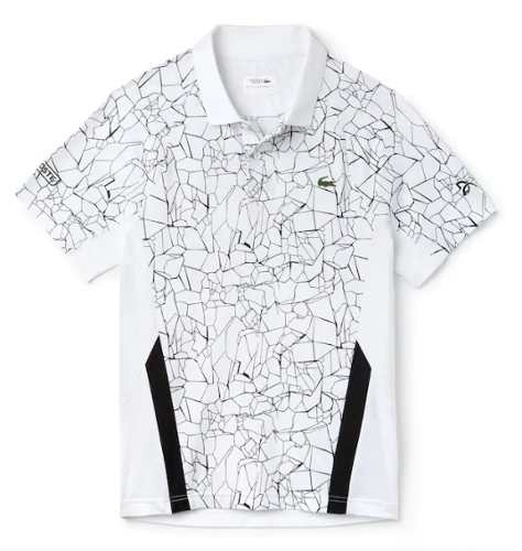 Camiseta Polo Masculina Lacoste Sport Novak Djokovic Branca