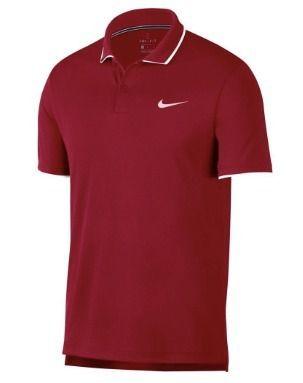 Camisa Polo Nikecourt Team Masculina Vermelha