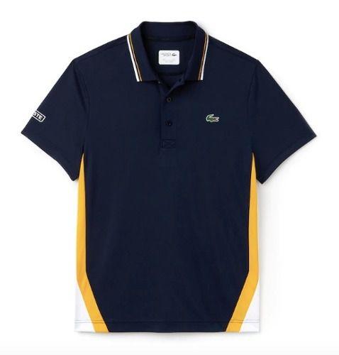 Camiseta Polo Masculina Lacoste Sport Azul