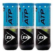 Bola De Tênis Dunlop ATP - 3 Tubos Com 3 Bolas