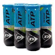 Bola De Tênis Dunlop ATP - 6 Tubos Com 3 Bolas