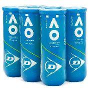 Bola De Tênis Dunlop Australian Open - 6 Tubos Com 3 Bolas