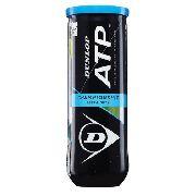 Bola De Tênis Dunlop Championship ATP - Tubo Com 3 Bolas