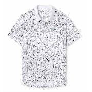 Camisa Polo Masculina Lacoste Sport Novak Djokovic Branca