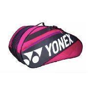 Raqueteira Yonex 9r Bag7629ex Rosa/roxo/cinza