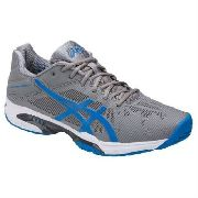 Tênis Asics Gel Solution Speed 3 - Aluminium/eletric Blue