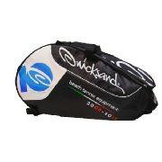 Raqueteira Quicksand Beach Tennis Preto/branco