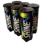 Bola De Tênis Ultra Shine - 6 Tubos