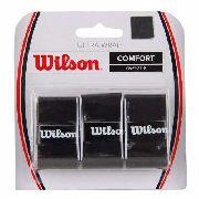 Overgrip Wilson Ultra Wrap Preto - 3 Unidades