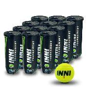 Bola De Tênis Inni Tournament 12 Tubos De 3 Bolas