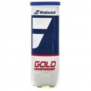Bola de Tênis Babolat Gold Championshiop - Tubo com 3 Bolas