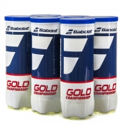 Bola de Tênis Babolat Gold Championship - 06 Tubos com 3 Bolas
