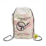 Bola De Tênis Spin Beach Tennis Laranja Pacote C/ 40 Unidades