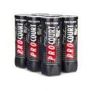 Bola de Tênis Tretorn ProCourt - Pack com 06 Tubos