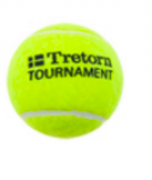 Bola de Tênis Tretorn Tournament - Tubo com 3 Bolas