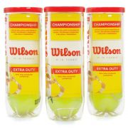 Bola de Tênis Wilson Championship - 3 Tubos com 3 Bolas