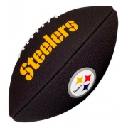 Bola de Futebol Americano Wilson NFL Pittsburgh Steelers Black