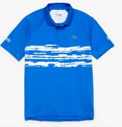 Camisa Lacoste Sport Polo Novak Djokovic -  Azul