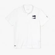 Camisa Polo Lacoste Sport Novak Djokovic – Branco