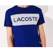Camiseta Lacoste Sport Ultra Dry Printed TH4865 21 EMJ Azul