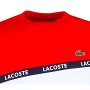 Camiseta Lacoste Sport Ultra Dry TH8427 21 YY2 Vermelho