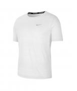 Camiseta Nike Dri-FIT Miler Masculina Branco