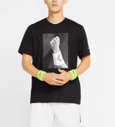 Camiseta Nike Punho Rafael Nadal - Preto