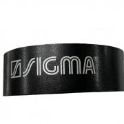 Fita Protetora Sigma  - Preto - 25mm - 50cm para 1 Raquete