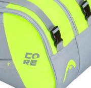 Raqueteira Head Core 6R Combi - Verde Limão
