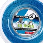 Corda ProKennex IQ Hexa 1.28mm Azul - Rolo com 200m