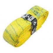 Cushion Grip Karakal PU Super Grip Multi Cor Amarelo com detalhes
